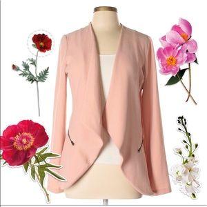 Jackets & Blazers - Blush pink blazer Eloide